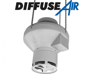 Diffuse Air Fan Diffusers For RVK